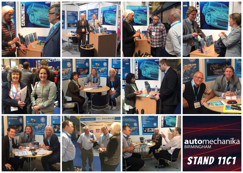 TARRC and Rubber Consultants at Automechanika Birmingham 2016