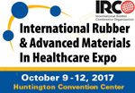 International Rubber & Advanced Materials In Healthcare Expo, International Elastomer Conference and IRC 2017, Cleveland, Ohio. 10th-13th October
