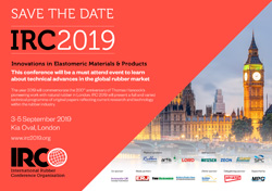 IRC 2019 - International Rubber Conference 2019, London