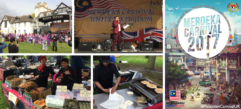Malaysian Merdeka Carnival Day UK 2017 on Saturday 23rd September 2017 @ Brickendonbury, Hertford