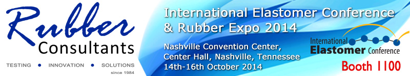 Rubber Consultants @ International Elastomer Conference & Rubber Expo 2014, Nashville, Tennessee