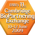 11th Cambridge BioPartnering Exchange between 10th - 12th June 2009