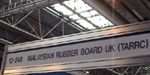Malaysian Rubber Board UK (TARRC) signage at the Show